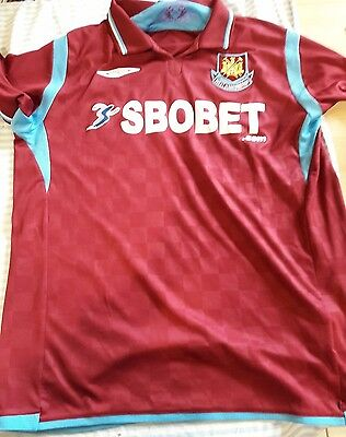 Maillot West Ham United 2009/2010 taille L
