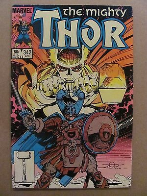 Thor #342 Marvel Comics 1966 Series