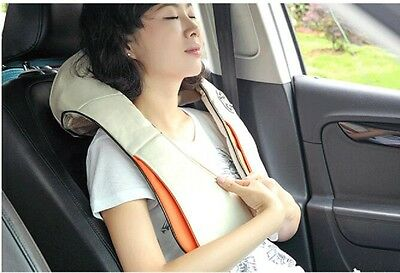 Health Care Pillow Kneading Neck Shoulder Back Waist Belly Foot Massager Relax
