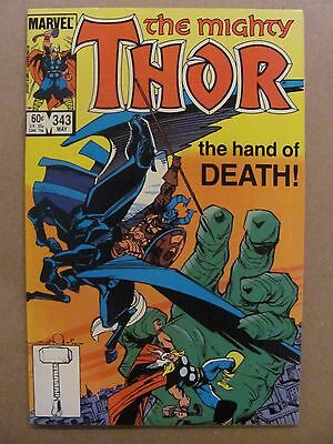 Thor #343 Marvel Comics 1966 Series