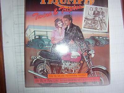 Triumph Twins + Triples ,   Book By Roy Bacon , Osprey Collector,s Library