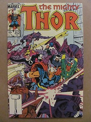 Thor #352 Marvel Comics 1966 Series