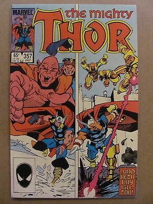 Thor #357 Marvel Comics 1966 Series 9.2 Near Mint-