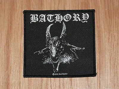 Bathory - Goat (New) Sew On W-Patch Official Band Merchandise