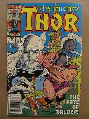 Thor #368 Marvel Comics 1966 Series Canadian Newsstand $0.95 Price Variant