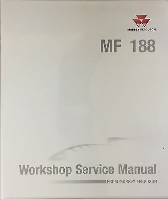 Genuine Massey Ferguson 188 Workshop Manual