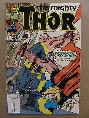 Thor #374 Marvel Comics 1966 Series Mutant Massacre X-Factor app