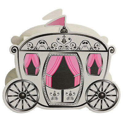 Miniature Paper Pumpkin Carriage Candy Gift Box For Princess Wedding Party BF
