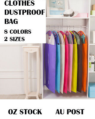 New Dustproof Storage Bag Garment Dress Cover Suit Clothes Coat Jacket Protector