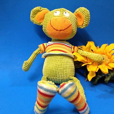 Lily & George Soft Toy - Corduroy & Knitted - Rascal Monkey - For Babies & Kids