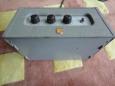 Philips PA Amplifier Valve untested