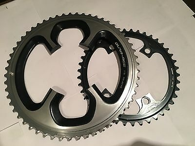 Shimano Dura Ace 9000 11 Speed 55/42 - 110bcd chainrings - Used