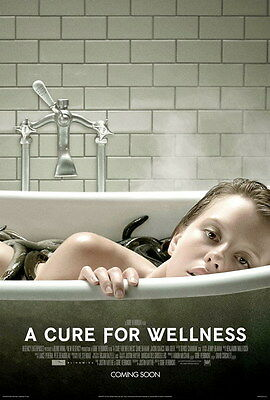 """002 A Cure for Wellness - Mia Goth 2016 Thriller USA Movie 14""""x20"""" Poster"""
