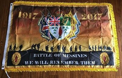 36th Ulster Division Battle Of Messines 100th Anniversary Souvenir Flag 3X5FT