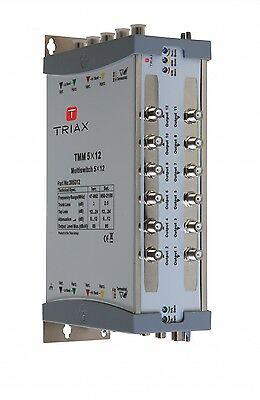 Triax TMM 5X12 Multiswitch Part No: 305312