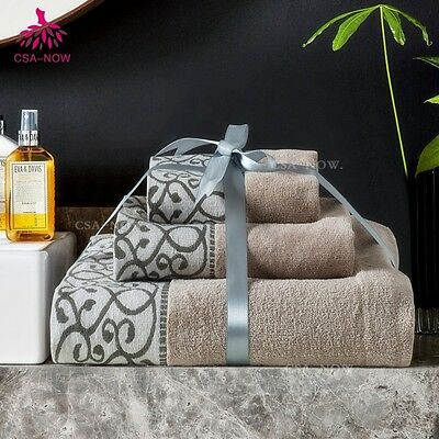 Gacloz Luxury 100% Cotton 550 GSM Bath Bathroom Towel Towels Extra Large Hand