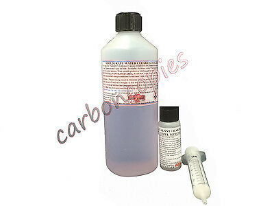 WATER CLEAR CASTING RESIN 250g KIT - jewellery, Flowers, Model making