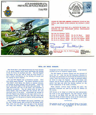 G.B.1980 RAF 60th ANN. OF FIRST ROYAL AIR FORCE PAGEANT SIGNED: R. THILTHORPE