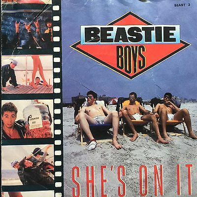 "Beastie Boys # She,s On It # 7"" Inch Vinyl # Def Jam Records # 1985"