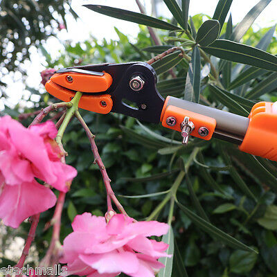 2M Telescopic Long Reach Pole Pruner Saw Chainsaw Branch Cutter Tree Trimmer NEW