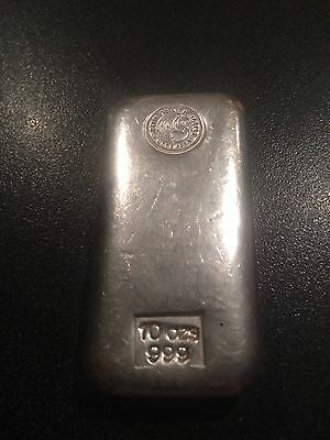 10 oz  Silver Bar Perth Mint  Bullion Bar Investment Grade Silver Bar