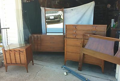 Mid century modern Kent Coffey Perspecta Bedroom Set