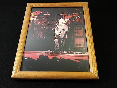 Jerry Garcia Grateful Dead Concert Photograph Color 8X10 Framed