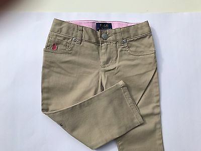 BNWT Girls Polo Ralph Lauren Girls Jeans Trousers Chinos 2t,3t,4t,5,6