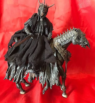 """Lord Of The Rings Figure Mouth Of Sauron & Horse 7"""" Figure - VGC - Rare!!"""