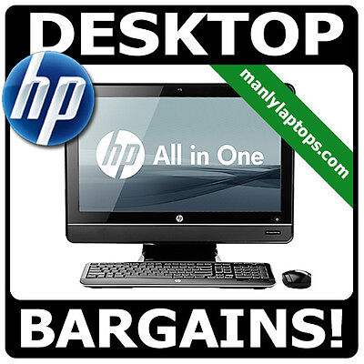 "GRADE A - HP 8200 ELITE ALL IN ONE 23"" i5 3.3GHz 8GB WIN 10 PC - 1 YEAR WARRANTY"