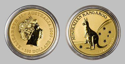 1 oz 2009 Kangaroo Perth Mint Gold Bullion Coin (Mint Condition)