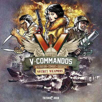 V-Commandos Secret Weapon Board Game - NEW - Expansion [ English + French]