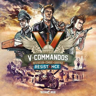 V-Commandos Resistance Board Game - NEW - Expansion [ English + French]