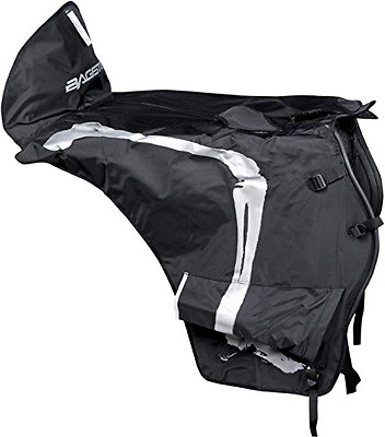 Scooter Apron Black Rider Protector Motorcycle Seat Rain Cover One Size BAGSTER