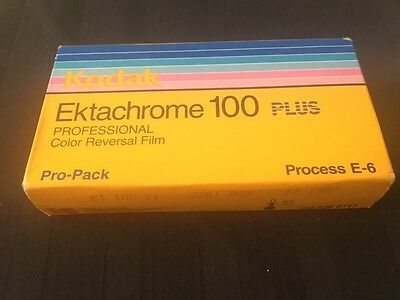 Kodak Professional Ektachrome 100 Plus , 120, 5 roll Slide PRO PACK.  Outdated