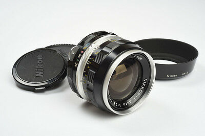 MINT Nikon Nikkor-S 35mm F2.8 Non AI Wide Angle Lens - 2nd Version, Circa 1970