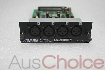 Yamaha MY4-AD 4 Channel Analog Input Module Card to suit 01V 02R96 Mixer