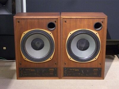 TANNOY SRM 12B speakers monitor Gold drivers dual concentric