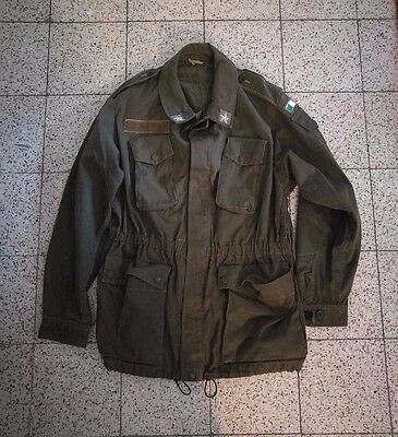 Vintage Italy Italian Army Officer Shirt Paratrooper - Size Small