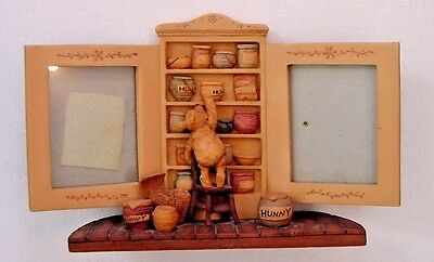 Disney Classic Winnie The Pooh Honey Cupboard Double Picture Frame