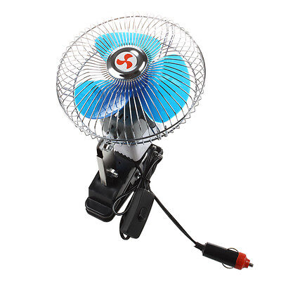 Portable 12V motor vehicle car fan Cooler D5Q9