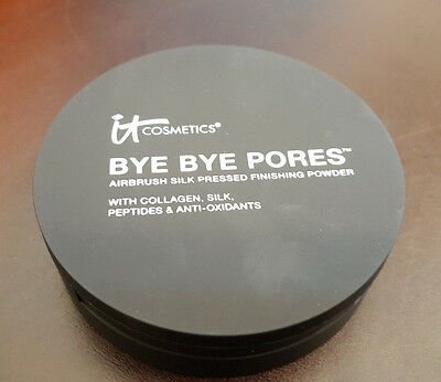 it COSMETICS Bye Bye Pores Silk Pressed Anti-Aging Finishing Powder Translucent