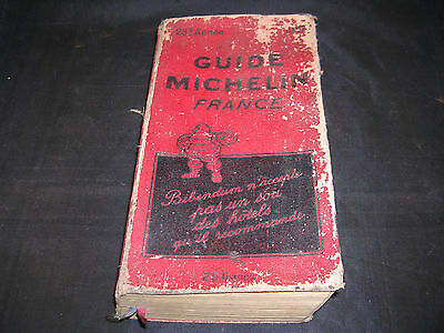 Guide Michelin France, 1932, rouge