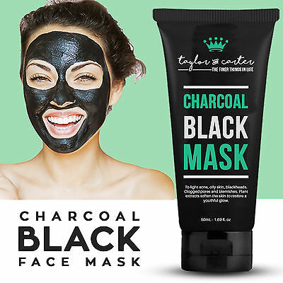 Blackhead Remover Face Mask Deep Cleansing Pore Peel Acne Black Mask 50ml