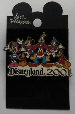 Disney Pin DLR Disneyland 2001 FAB 5 Cheerleaders Pin LE