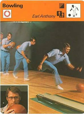 1977 EARL ANTHONY (Bowling) #04-10 SPORTSCASTER card