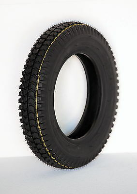 3.00-8 Black Mobility Scooter Tyre 300x8 for Powerchairs & Cordoba