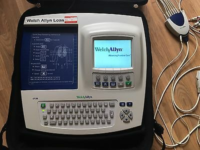 Welch Allyn CP 200 Portable Heart Monitor Resting ECG Electrocardiograph Machine
