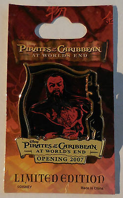 Disney Pin Pirates of the Caribbean At World's End Countdown #6 Sao Feng