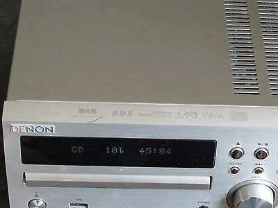 Lovely Denon M39DAB CD Receiver system with speakers